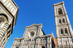 Florence Cathedral of Santa Maria del Fiore or Duomo di Firenze Stock Photos
