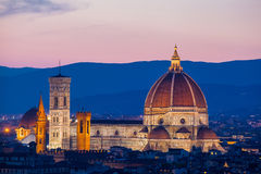 Florence, Cathedral of Santa Maria del Fiore Stock Images