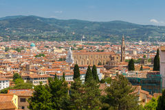 Florence.  Cathedral of St. Mary. Royalty Free Stock Photos