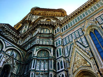 Florence Cathedral. The Florence Cathedral from street level Stock Photography