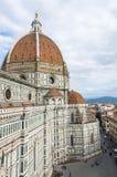 Florence Cathedral in Toscana, Italia Immagine Stock Libera da Diritti