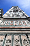 Florence Cathedral Tower. Cathedral Tower in Florence Italy Stock Photos
