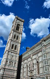 Florence cathedral and tower Royalty Free Stock Image