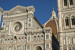Florence Cathedral and Tower Royalty Free Stock Photography