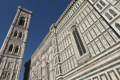 Florence Cathedral and tower Stock Images