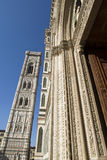 Florence Cathedral and tower Royalty Free Stock Images