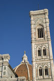 Florence Cathedral and tower Royalty Free Stock Photos