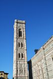 Florence cathedral and the tower Royalty Free Stock Images