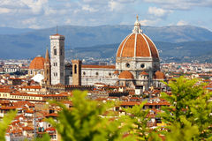 Florence cathedral,Tuscany, Italy Royalty Free Stock Photos