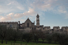 Florence Charterhouse church. Certosa di Galluzzo di Firenze. Italy. royalty free stock photos