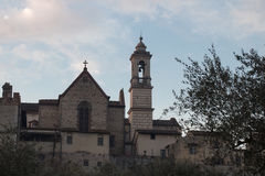 Florence Charterhouse church. Certosa di Galluzzo di Firenze. Italy. stock images