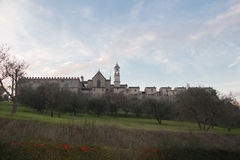 Florence Charterhouse church. Certosa di Galluzzo di Firenze. Italy. royalty free stock image