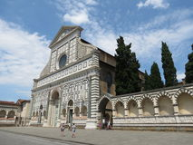 Florence, church of Santa Croce Royalty Free Stock Images