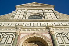 Florence Church of Santa Maria Novella Royalty Free Stock Image