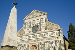 Florence Church of Santa Maria Novella Stock Photo