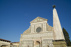 Florence Church of Santa Maria Novella Stock Photos
