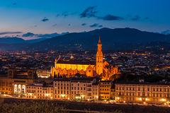 Florence city Royalty Free Stock Photos