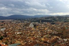 Florence city stock image