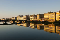 Florence city in the evening Royalty Free Stock Image