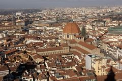Florence. City landscape. places of Interest. Attractions. Stock Photography