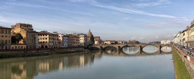 Florence. City landscape. places of Interest. Attractions. Royalty Free Stock Photos