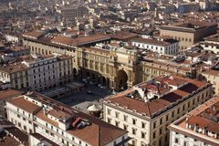 Florence. City landscape. places of Interest. Attractions. Stock Images