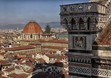 Florence. City landscape. places of Interest. Attractions. Stock Photos