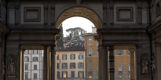 Florence. City landscape. places of Interest. Attractions. Royalty Free Stock Photo