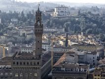 Florence. City landscape. places of Interest. Attractions. Florence. The historical center of the old city Stock Images