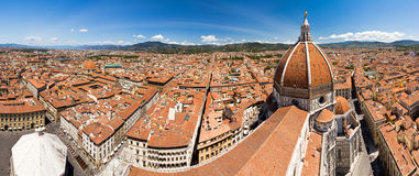 Florence city panorama Stock Image