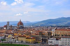 Florence city view, Italy  Stock Photos