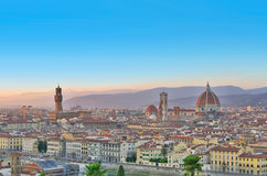 Florence city view, Italy Stock Image