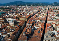 Florence Cityscape. Florence as seen from the rooftops Stock Photography