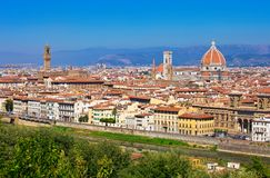 Florence Cityscape Royalty Free Stock Photography