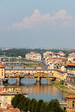Florence Cityscape Fotografie Stock
