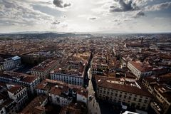 Florence cityscape Royalty Free Stock Photo