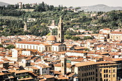 Florence cityscape, beautiful italian city of history and cultur Royalty Free Stock Photography