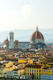 Florence cityscape with Duomo Stock Image