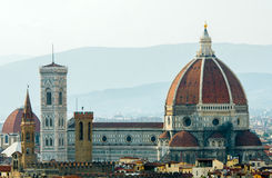 Florence cityscape with Duomo Royalty Free Stock Photography