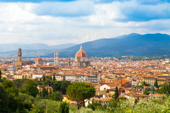 Florence cityscape with Duomo Santa Maria Del Fiore Royalty Free Stock Photos