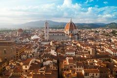 Florence cityscape with Duomo Santa Maria Del Fiore Stock Image
