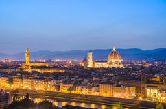 Florence cityscape Stock Images