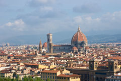 Florence cityscape, Italy stock images
