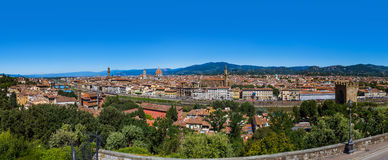 Florence cityscape - Italy Stock Photography