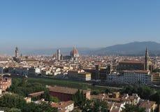 Florence cityscape panorama Royalty Free Stock Image