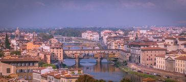 Florence Cityscape stock afbeelding