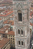 Florence cityscape with Santa Maria del Fiore Basilica tower Royalty Free Stock Image
