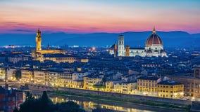Florence cityscape skyline - Italy Stock Photography