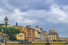 Florence Cityscape View, Italia Imagenes de archivo