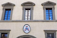 Florence Coat of Arms Stock Photo